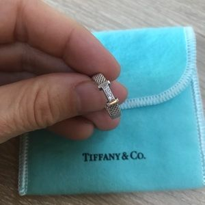 Tiffany & Co Somerset Ring with Diamonds